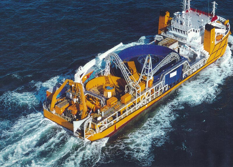 Cable Lay Vessel Sea Spider