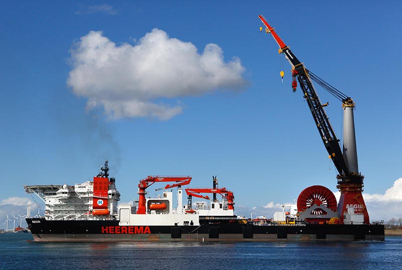 Pipe Lay Vessel Aegir