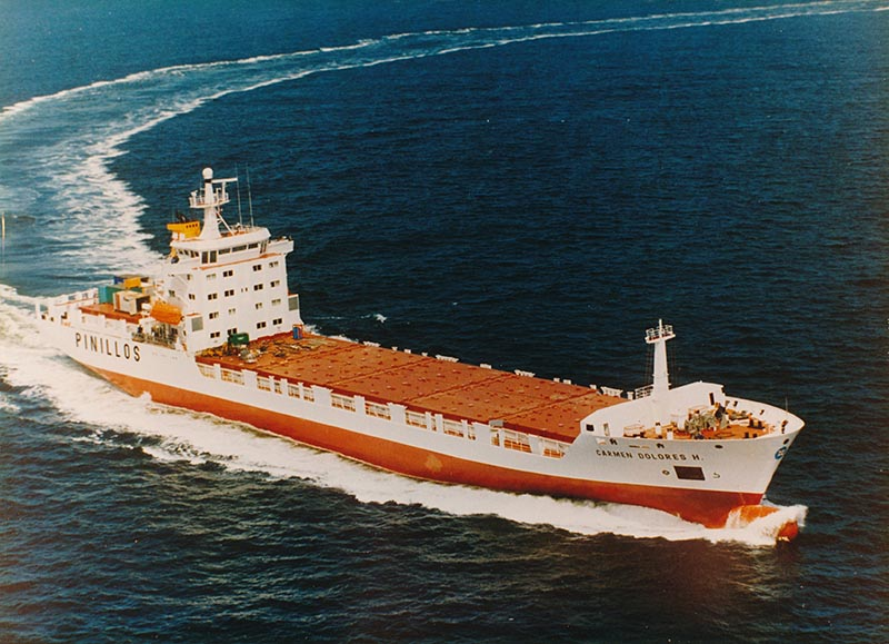 Reefer Vessel Carmen Dolores